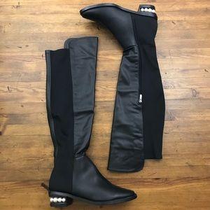 df52a1750cd Catherine Malandrino Shoes - Catherine Malandrino Pasta Pearl OTK Black  Boots